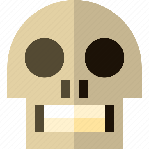 fear, halloween, horror, scary, skull, terror icon
