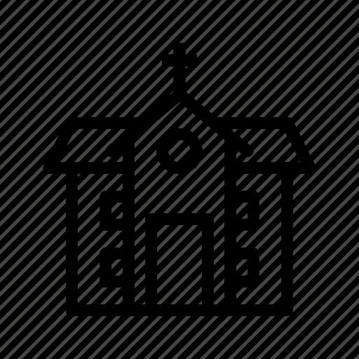 church, haunted, haunted house, horror, spooky icon
