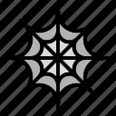 cobweb, spider, web icon