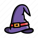 costume, halloween, hat, magic, scary, spooky icon