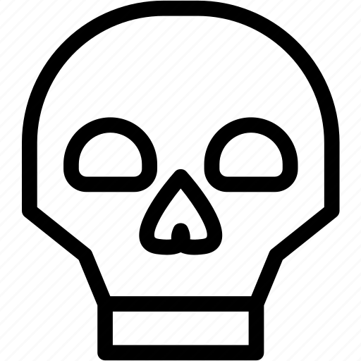 Death, halloween, horror, monster, scary, skull, spooky icon - Download on Iconfinder
