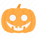 halloween, horror, pumpkin, scary, smile, spooky icon
