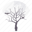forest, ghost, halloween, horror, scary, spooky, tree icon