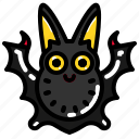 animal, bat, spooky, vampire icon