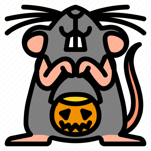 animal, mouse, rat, rodent, tail icon