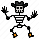 bone, halloween, human, scary, skeleton icon