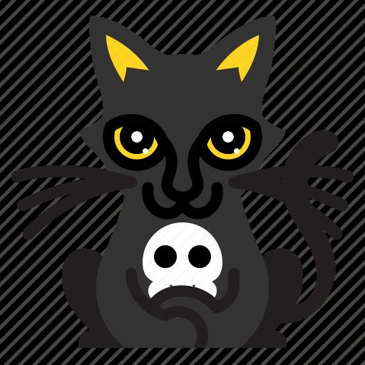Animal, blackcat, funny, pet icon - Download on Iconfinder