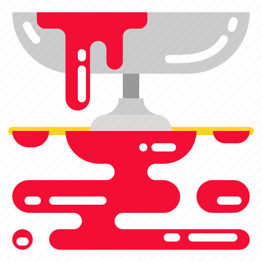 blood, drop, halloween, horror, red icon