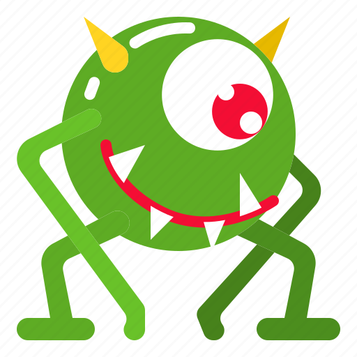 Alien, character, cute, devil, monster icon - Download on Iconfinder
