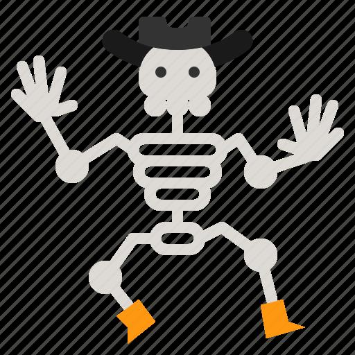Bone, halloween, human, scary, skeleton icon - Download on Iconfinder