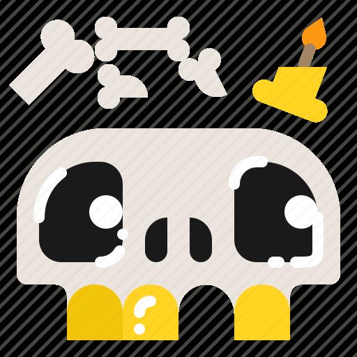 Dead, head, human, skeleton, skull icon - Download on Iconfinder