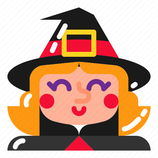 hat, magic, trick, witch icon