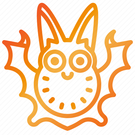 Animal, bat, cute, spooky, vampire icon - Download on Iconfinder