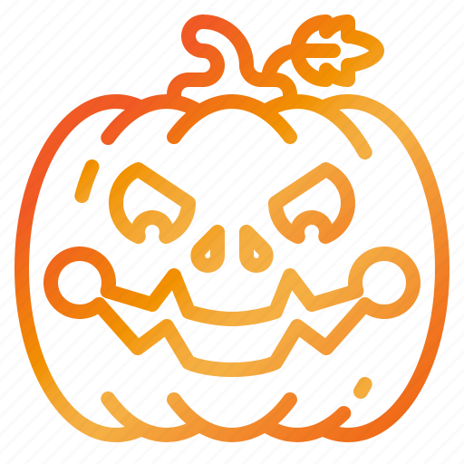 autumn, halloween, holiday, pumpkin, vegetable icon
