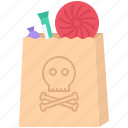 candy, fantasy, halloween, legend, package, story, sweets