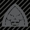 dead, death, fear, halloween, horror, person, reaper icon