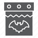 calendar, date, day, halloween, holiday, october icon