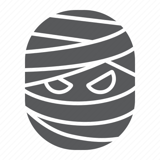 creepy, halloween, horror, monster, mummy, person, scary icon