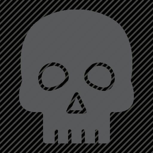bones, halloween, horror, human, skary, skull icon