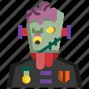 avatar, frankenstein, halloween, horror, monster, undead, zombie icon