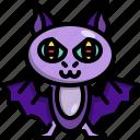 animal, bat, creepy, fly, halloween, vampire icon