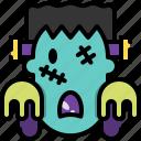 avatar, frankenstein, horror, man, undead, zombie icon