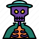 avatar, captain, halloween, horror, pirate, skull icon