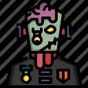 avatar, frankenstein, halloween, horror, undead, zombie icon