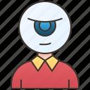 avatar, eye, halloween, horror, monster icon