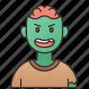 avatar, halloween, horror, monster, zombie icon