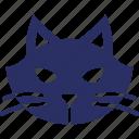 animal, cat, cat face, evil cat, feline cat icon
