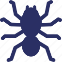 bug, halloween, insect, spider, spiderweb icon