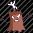 ghost tree, haunted tree, horror tree, scary tree, spooky tree icon