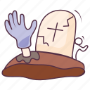 bloody, halloween cleaver, halloween knife, scary cleaver, scary knife icon
