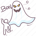 creepy ghost, ghost, halloween ghost, monster, scary ghost icon