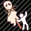 black magic, evil doll, halloween doll, scary doll, voodoo doll icon