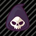 grim, halloween, monster, reaper, scary, spooky