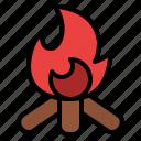 bonfire, burn, fire, halloween