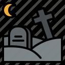 dead, graveyard, halloween, horror