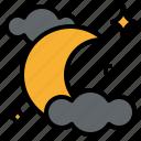 cloud, halloween, moon, night