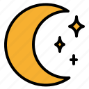 halloween, moon, night, star