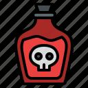 poison, dead, halloween, skull