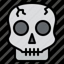 dead, glost, halloween, skull