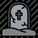 halloween, horror, scary, tombstone