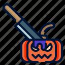 halloween, killer, knife, murderer, weapon