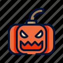 halloween, horror, lantern, pumpkin, scary