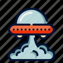 alien, halloween, space, spaceship, ufo