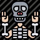bone, dead, ghost, human, skeleton