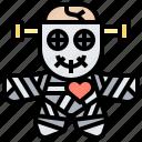 cursed, doll, magic, ominous, voodoo
