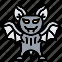 animal, bat, halloween, mystery, night